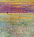 Hassam Childe Sunset at sea Sun