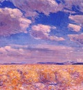 hassam afternoon sky, harney desert
