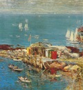 hassam appledore, august