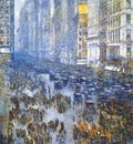 hassam fifth avenue