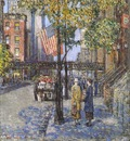 hassam flags on the friars club