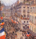 hassam july fourteenth, rue daunou