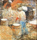 hassam new york hod carriers