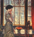 hassam new york winter window