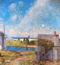 hassam old long island landscape