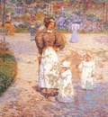 hassam spring in central park