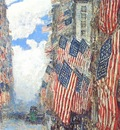 hassam the fourth of july