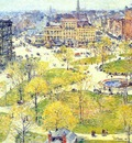 hassam union square in spring