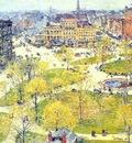 hassam union square in spring