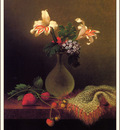 bs flo Martin Johnson Heade Vase Of Corn Lilies And Heliotrope