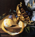 Heem de Cornelis A banqueting piece Sun