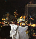 Heem Jan Davidsz De Still Life Of Dessert