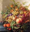 Henstenburgh Herman Still life with fruit Sun