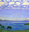 Hodler Ferdinand Lake of Geneve Sun