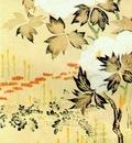hoitsu peonies and chrysanthemums
