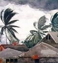 Homer Hurricane, Bahamas, 1898 99, 36 8x53 3 cm, Metropolita