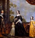 Honthorst van Gerard Frederik Hendrik and family Sun