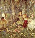 Hornel Edward Music Of The Woods
