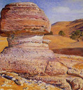 Hunt William Holman The Sphinx Gizeh Looking towards the Pyramids of Sakhara