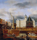Kessel van Jan The Dam with city hall Sun