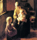 Kever Jacob Simon Hendrik Minding The Baby