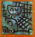 Klee Captive, 1940, Oil on burlap, Collection Mr  and Mrs  F