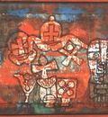 Klee Chinese porcelain, 1923, Collection Mr  and Mrs  Werner