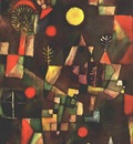 Klee Full moon, 1919, Stangel Gallery, Munich
