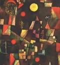 Klee Full moon, 1919, Stangel Gallery, Munich