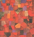 Klee Mountain village Autumnal , 1934, Galerie Rosengart, L