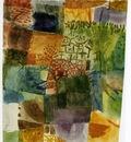 Klee Remembrance of a garden, 1914, Watercolour, 25 2x21 5 c