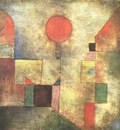 Klee The red balloon, 193, Solomon R  Guggenheim Museum, New
