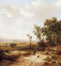 Kluyver Pieter Summer landscape Sun