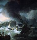 Kobell II Hendrik English battleships in disstress Sun