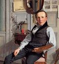 Kobke Christen Portrait of Frederik Sodring Sun