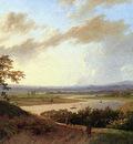 Koekkoek Marinus A Rijn landscape Sun