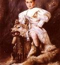 Koppay Joseph Arpad A Portrait Of Kaiser Karl Archduke Of Austria