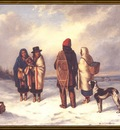 ds cornelius krieghoff 01l indian in a snowy landscape 1847