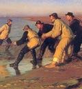 kroyer peder severin pescadores en la playa