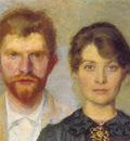 kroyer peder severin retrato del matrimonio