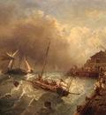 Kuwasseg, Charles Euphrasie Ships in a Storm end