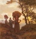 Kuyck Frans Van Returning From The Fields