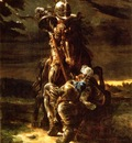 Maclise, Daniel The Combat of Two Knights end