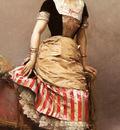 Garreta Raimundo De Madrazo Y A Portrait Of Aline Masson