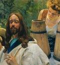 Christ and Samaritan Woman I