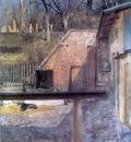 courtyard in zwierzyniec, cracow