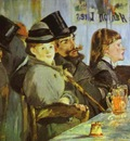 Edouard Manet At the Cafe