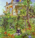 Edouard Manet Girl in the Garden at Bellevue