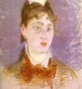 Edouard Manet Jeune fille au col casse, de face