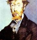 Edouard Manet Portrait of George Moore